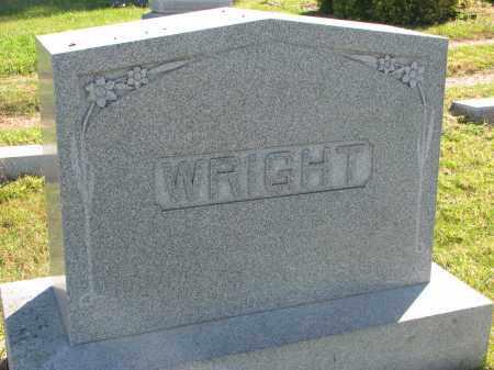 WRIGHT, FAMILY STONE - Clay County, South Dakota   FAMILY STONE WRIGHT - South Dakota Gravestone Photos