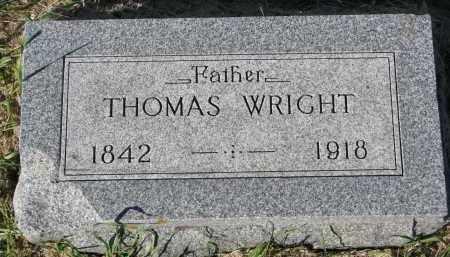 WRIGHT, THOMAS - Clay County, South Dakota | THOMAS WRIGHT - South Dakota Gravestone Photos