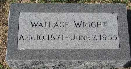WRIGHT, WALLACE - Clay County, South Dakota | WALLACE WRIGHT - South Dakota Gravestone Photos