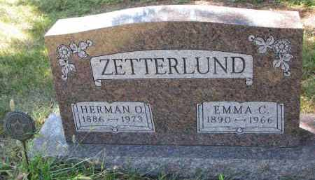 ZETTERLUND, HERMAN O. - Clay County, South Dakota | HERMAN O. ZETTERLUND - South Dakota Gravestone Photos