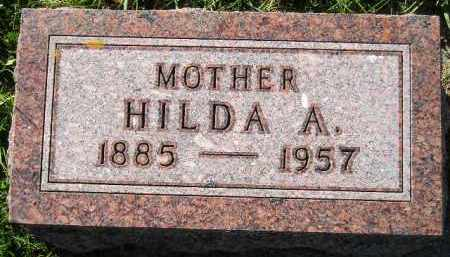 AAKER, HILDA ADELAIDE - Codington County, South Dakota | HILDA ADELAIDE AAKER - South Dakota Gravestone Photos