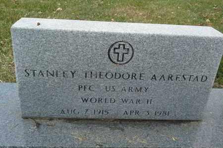 "AARESTAD, STANLEY THEODORE ""MILITARY"" - Codington County, South Dakota | STANLEY THEODORE ""MILITARY"" AARESTAD - South Dakota Gravestone Photos"