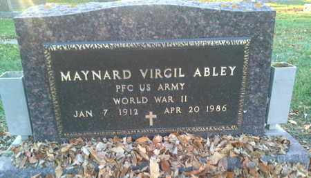 "ABLEY, MAYNARD VIRGIL ""MILITARY"" - Codington County, South Dakota   MAYNARD VIRGIL ""MILITARY"" ABLEY - South Dakota Gravestone Photos"