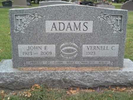 ADAMS, JOHN F - Codington County, South Dakota   JOHN F ADAMS - South Dakota Gravestone Photos