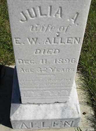 ALLEN, JULIA A. - Codington County, South Dakota | JULIA A. ALLEN - South Dakota Gravestone Photos