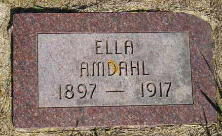 AMDAHL, ELLA - Codington County, South Dakota | ELLA AMDAHL - South Dakota Gravestone Photos