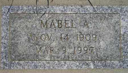 AMDAHL, MABEL A. - Codington County, South Dakota | MABEL A. AMDAHL - South Dakota Gravestone Photos