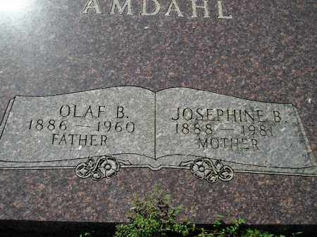 AMDAHL, OLAF BERNT - Codington County, South Dakota | OLAF BERNT AMDAHL - South Dakota Gravestone Photos