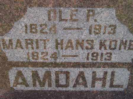 AMDAHL, OLE P. - Codington County, South Dakota | OLE P. AMDAHL - South Dakota Gravestone Photos