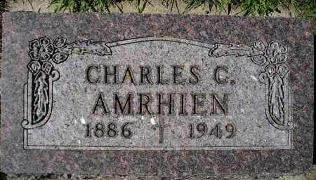 AMRHIEN, CHARLES C. - Codington County, South Dakota   CHARLES C. AMRHIEN - South Dakota Gravestone Photos