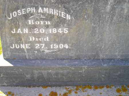 AMRHIEN, JOSEPH - Codington County, South Dakota | JOSEPH AMRHIEN - South Dakota Gravestone Photos