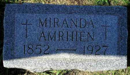 DANIELS AMRHIEN, MIRANDA - Codington County, South Dakota | MIRANDA DANIELS AMRHIEN - South Dakota Gravestone Photos