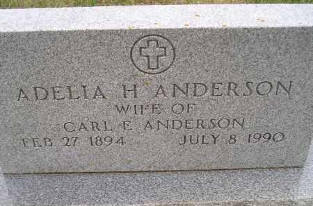 SCHMELING ANDERSON, ADELIA HERTHA - Codington County, South Dakota | ADELIA HERTHA SCHMELING ANDERSON - South Dakota Gravestone Photos