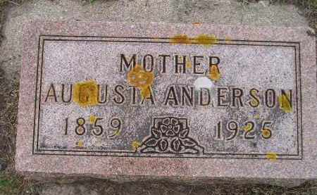 ANDERSON, AUGUSTA - Codington County, South Dakota | AUGUSTA ANDERSON - South Dakota Gravestone Photos