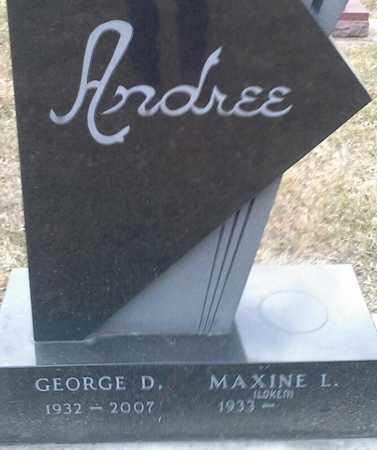 LOKEN ANDREE, MAXINE L - Codington County, South Dakota | MAXINE L LOKEN ANDREE - South Dakota Gravestone Photos