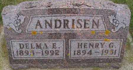 NELSON ANDRISEN, DELMA E. - Codington County, South Dakota | DELMA E. NELSON ANDRISEN - South Dakota Gravestone Photos