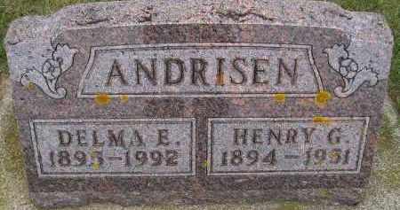 ANDRISEN, DELMA E. - Codington County, South Dakota | DELMA E. ANDRISEN - South Dakota Gravestone Photos