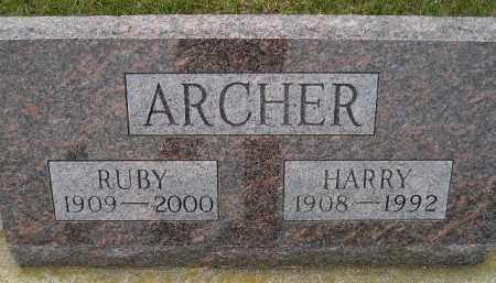 ARCHER, RUBY - Codington County, South Dakota | RUBY ARCHER - South Dakota Gravestone Photos