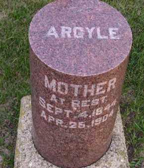 ARGYLE, MARIETTA - Codington County, South Dakota | MARIETTA ARGYLE - South Dakota Gravestone Photos