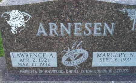 ARNESEN, MARGERY N. - Codington County, South Dakota   MARGERY N. ARNESEN - South Dakota Gravestone Photos