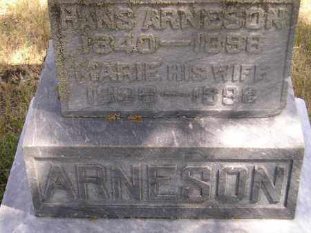ARNESON, HANS - Codington County, South Dakota | HANS ARNESON - South Dakota Gravestone Photos