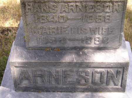 ARNESON, HANS - Codington County, South Dakota | HANS ARNESON - South Dakota Gravestone Photos