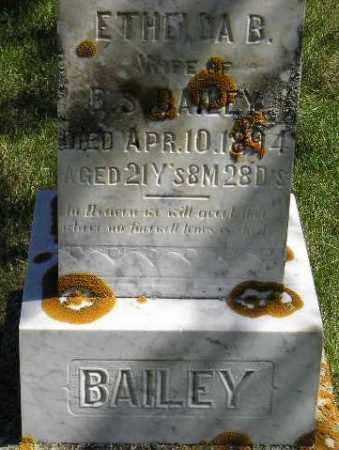 PHIPPS BAILEY, ETHELDA B. - Codington County, South Dakota | ETHELDA B. PHIPPS BAILEY - South Dakota Gravestone Photos
