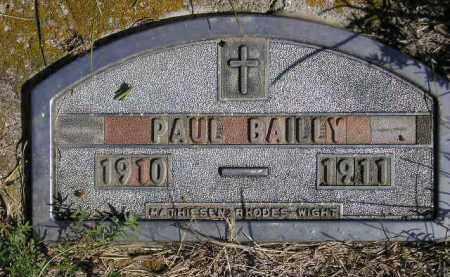 BAILLY, PAUL - Codington County, South Dakota | PAUL BAILLY - South Dakota Gravestone Photos