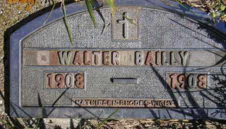 BAILLY, WALTER - Codington County, South Dakota | WALTER BAILLY - South Dakota Gravestone Photos