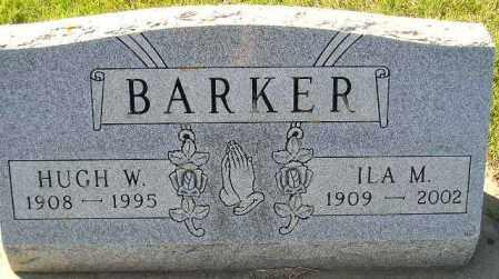 BARKER, HUGH W. - Codington County, South Dakota | HUGH W. BARKER - South Dakota Gravestone Photos