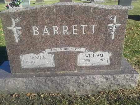 BARRETT, WILLIAM - Codington County, South Dakota | WILLIAM BARRETT - South Dakota Gravestone Photos