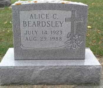 BEARDSLEY, ALICE C - Codington County, South Dakota   ALICE C BEARDSLEY - South Dakota Gravestone Photos