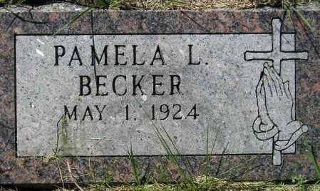 BECKER, PAMELA L. - Codington County, South Dakota | PAMELA L. BECKER - South Dakota Gravestone Photos