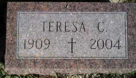 BECKING, TERESA C. - Codington County, South Dakota   TERESA C. BECKING - South Dakota Gravestone Photos