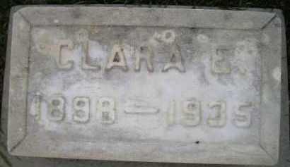 BENN, CLARA EMMA - Codington County, South Dakota   CLARA EMMA BENN - South Dakota Gravestone Photos