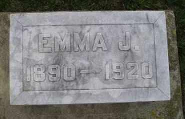 BENN, EMMA J. - Codington County, South Dakota | EMMA J. BENN - South Dakota Gravestone Photos