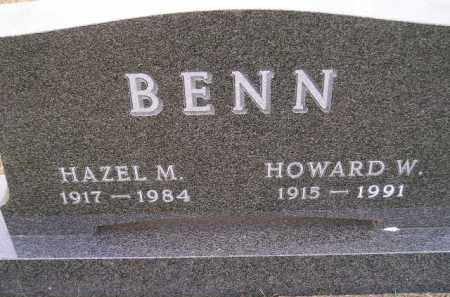 BENN, HAZEL MINERVA - Codington County, South Dakota | HAZEL MINERVA BENN - South Dakota Gravestone Photos