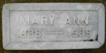 BENN, MARY ANN - Codington County, South Dakota | MARY ANN BENN - South Dakota Gravestone Photos
