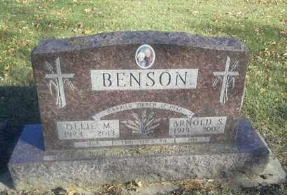 NEVINS BENSON, OLLIE M - Codington County, South Dakota | OLLIE M NEVINS BENSON - South Dakota Gravestone Photos