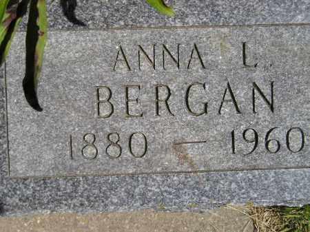 BERGAN, ANNA LOUISE - Codington County, South Dakota   ANNA LOUISE BERGAN - South Dakota Gravestone Photos