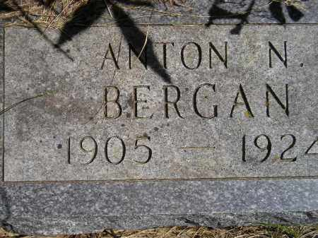 BERGAN, ANTON NORMAN - Codington County, South Dakota   ANTON NORMAN BERGAN - South Dakota Gravestone Photos