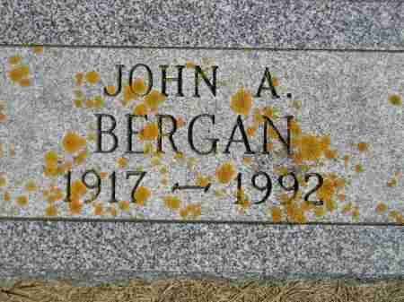 BERGAN, JOHN ARTHUR - Codington County, South Dakota | JOHN ARTHUR BERGAN - South Dakota Gravestone Photos