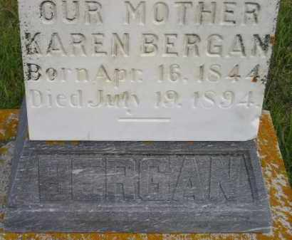 STENSTADVOLD BERGAN, KAREN - Codington County, South Dakota | KAREN STENSTADVOLD BERGAN - South Dakota Gravestone Photos