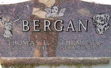 BERGAN, THOMAS L. - Codington County, South Dakota | THOMAS L. BERGAN - South Dakota Gravestone Photos