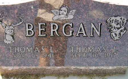 BERGAN, THOMAS JARVIS - Codington County, South Dakota | THOMAS JARVIS BERGAN - South Dakota Gravestone Photos