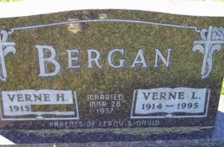 HAUER BERGAN, VERNE H. - Codington County, South Dakota | VERNE H. HAUER BERGAN - South Dakota Gravestone Photos
