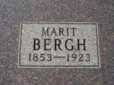 BERGH, MARIT - Codington County, South Dakota | MARIT BERGH - South Dakota Gravestone Photos