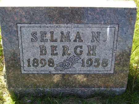 MELAND BERGH, SELMA NORA - Codington County, South Dakota | SELMA NORA MELAND BERGH - South Dakota Gravestone Photos