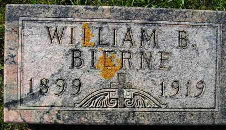 BIERNE, WILLIAM B. - Codington County, South Dakota   WILLIAM B. BIERNE - South Dakota Gravestone Photos