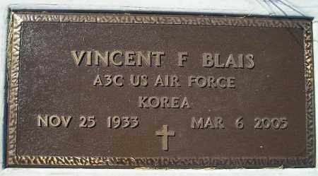 BLAIS, VINCENT F. - Codington County, South Dakota | VINCENT F. BLAIS - South Dakota Gravestone Photos